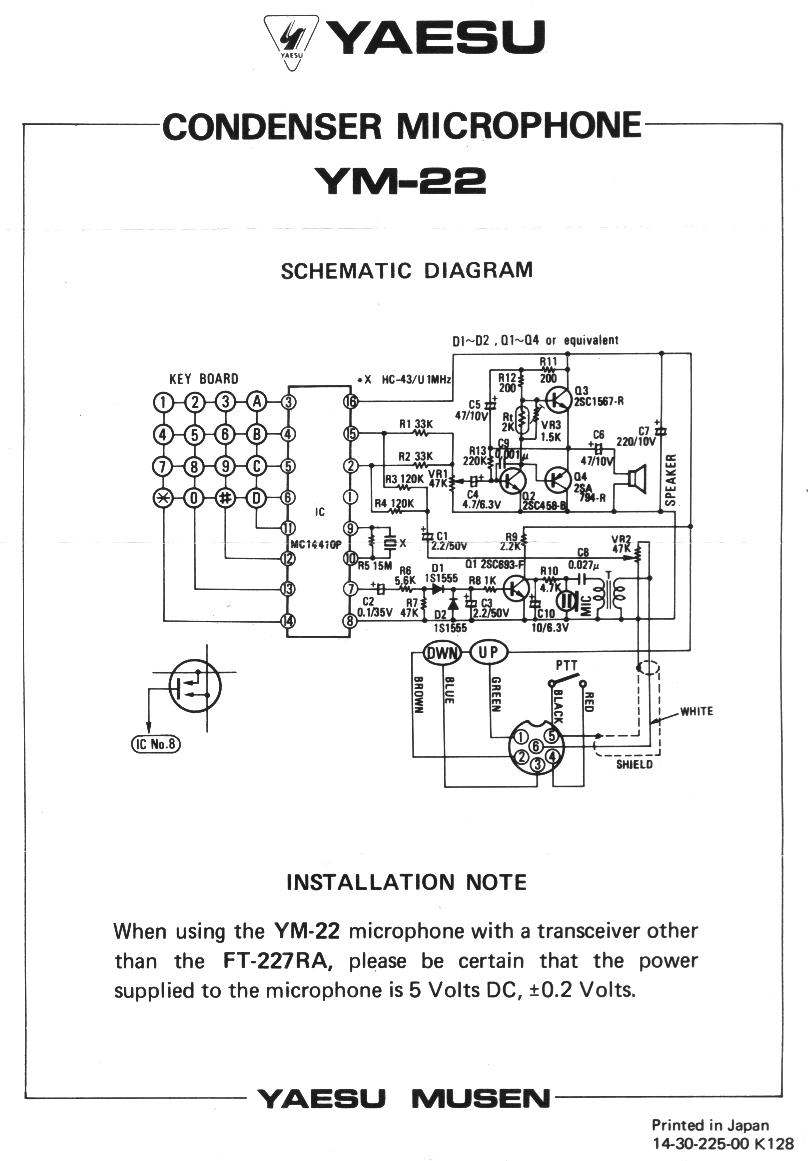 Date Shure Microphone 4 Pin Wiring Diagram