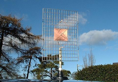 Construction of a 23cm double bi-quad antenna,G6GVI: i1wqrlinkradio com