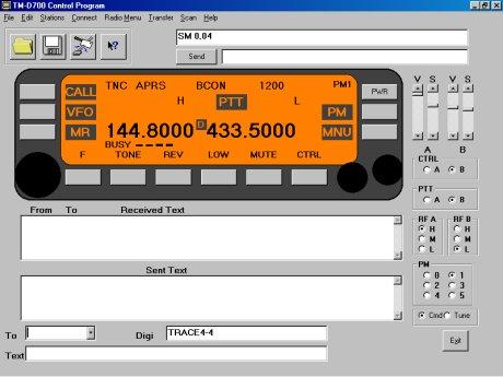 TM-D700 PC Control program