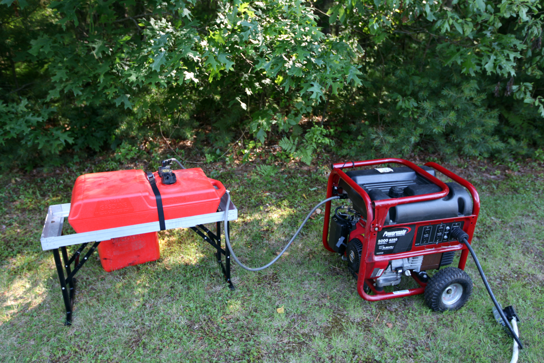 Field day 2012 - Is it bad to run a generator out of gas ...
