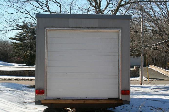 for Rear garage door