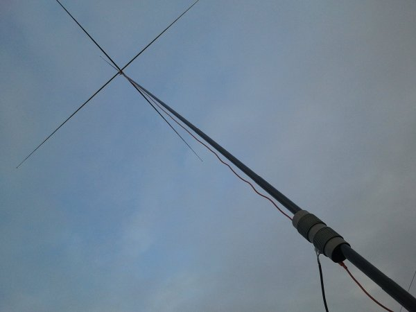 PG1N's HAM Radio Site - 40m Projects - Vertical Antennas