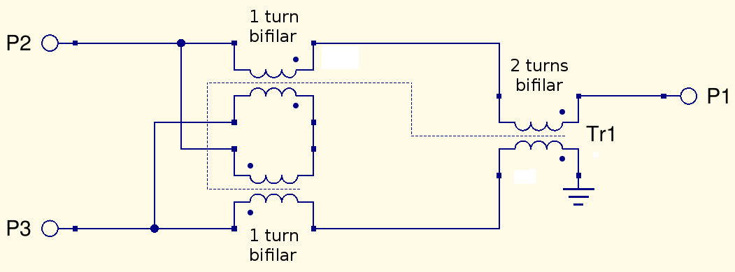 Some measurements on ferrite transformers