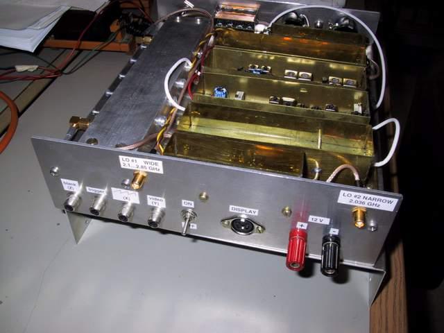 analizzatore di spettro / spectrum analyser