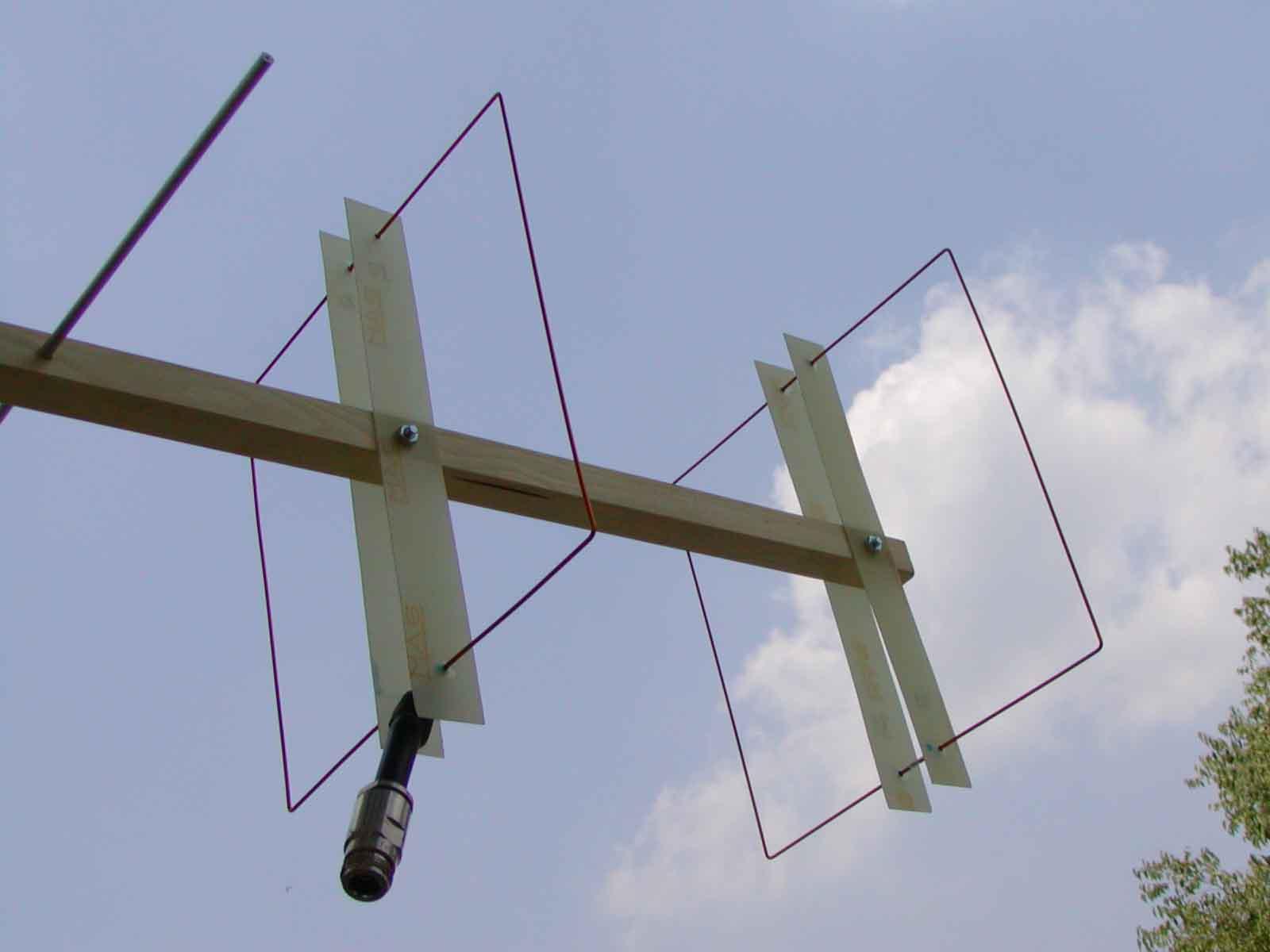 Ik1hge 432mhz 8el Quagi Antenna