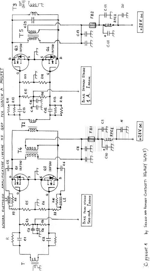amplificador de rf 60w