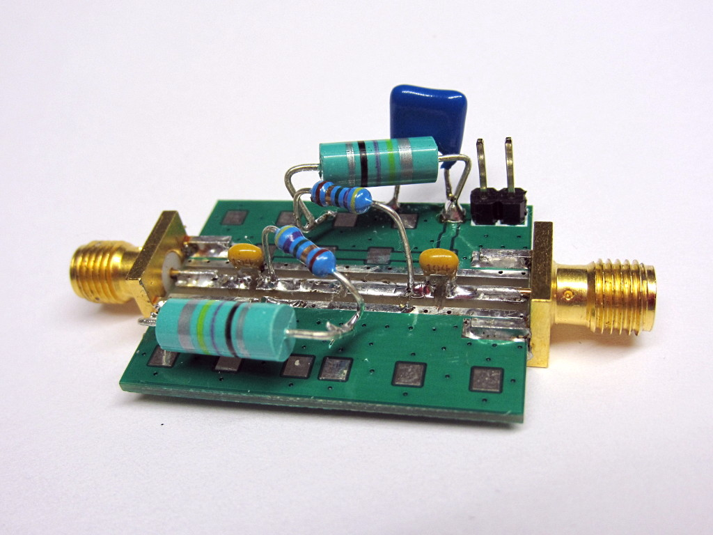 Measurements On Pseudo Pin Diodes Diode Electronic Test Fixture