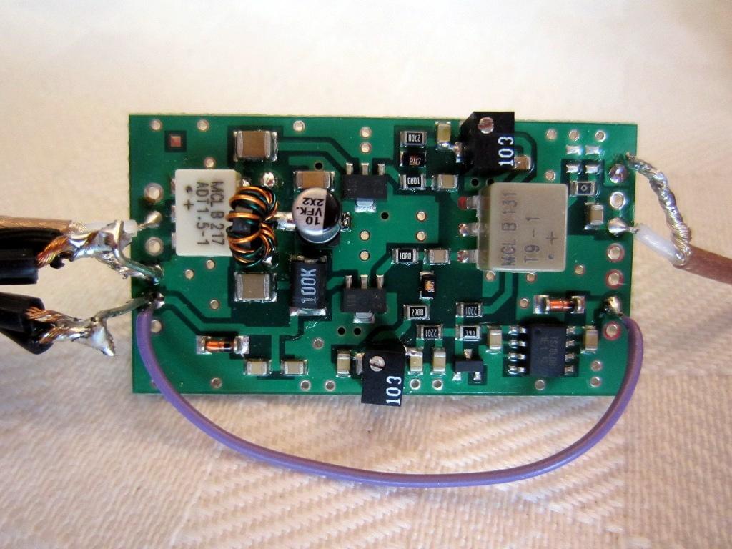 1 Watt Power Amplifier Measurements
