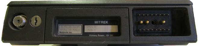 Faceplate Motorola Mitrek