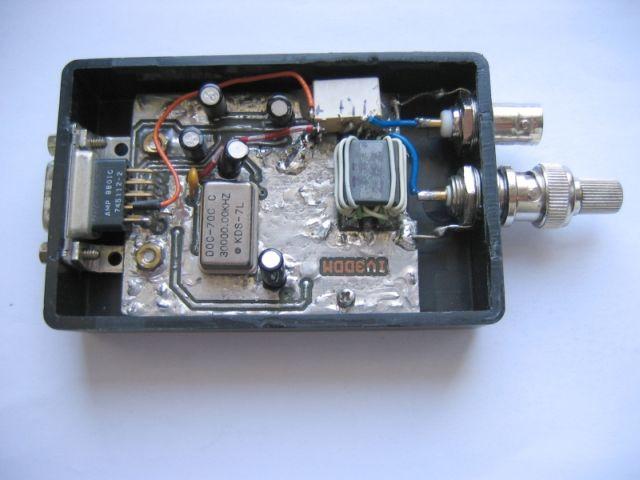 Analizzatore di antenne con DDS AD9851/