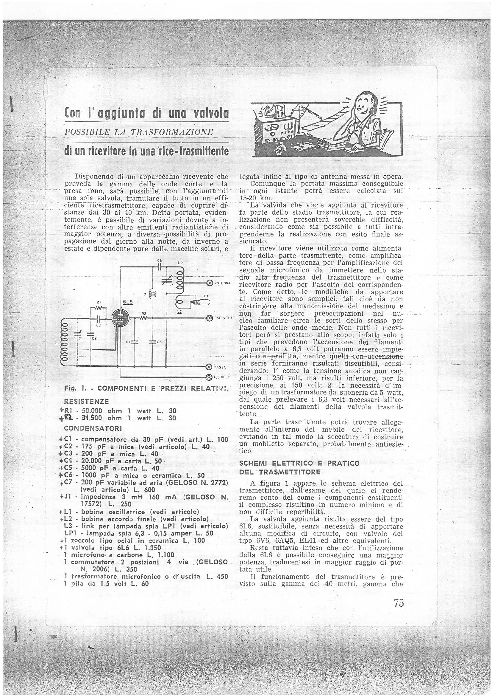 A Journey Into Building Radio Transmitters With Vacuum Tubes Telephone Circuit Schematic In Addition Simple Am Transmitter The Plate Of This Rig Requires Rf Choke See Approximate Schematics