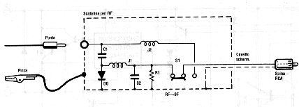 electric diagram of signal tracer