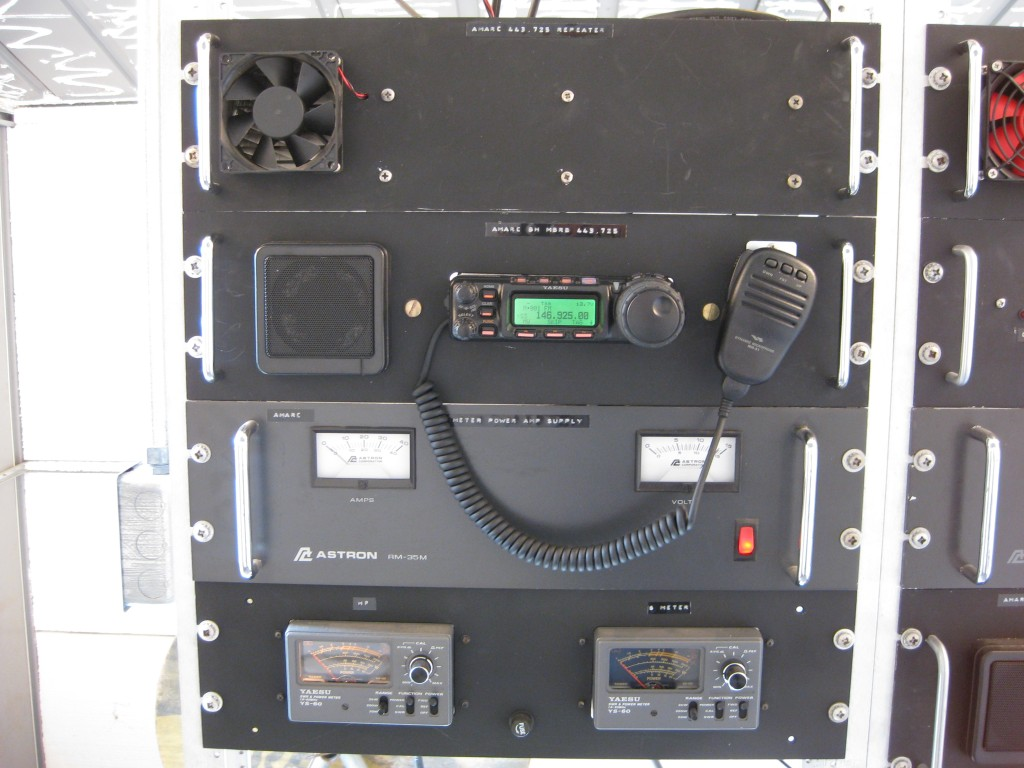 AMARC Multi-Band Remote Base UHF Repeater System