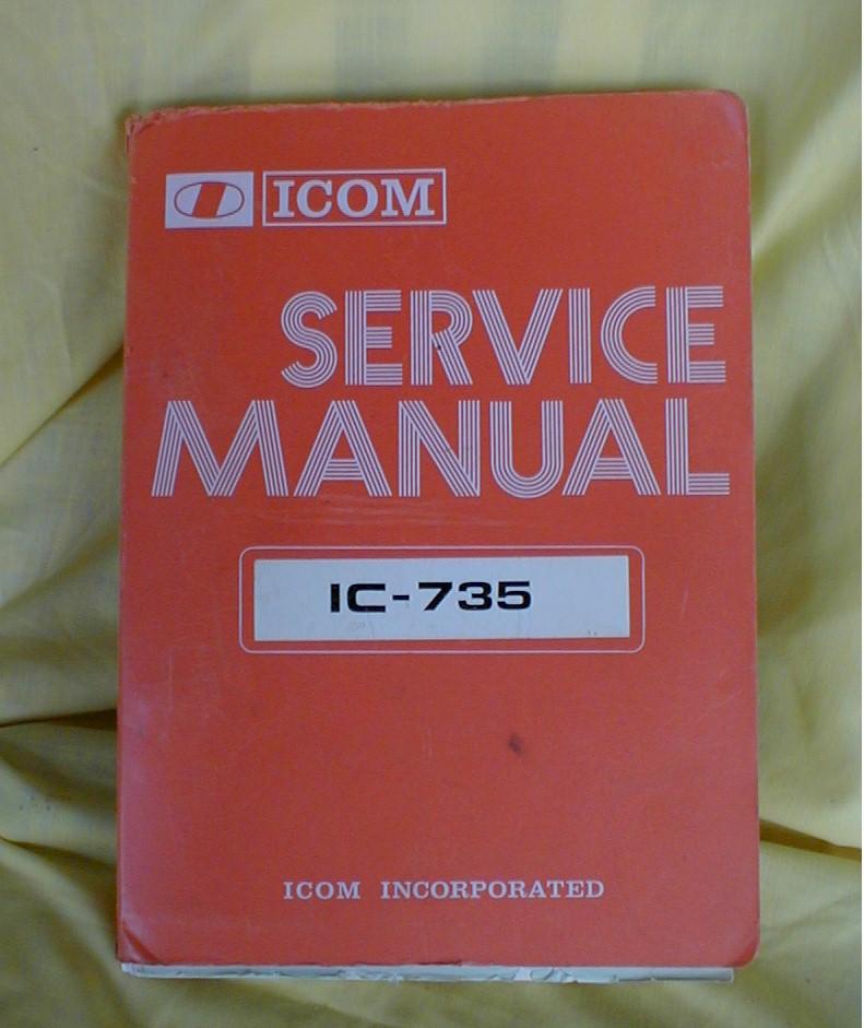 Icom 735 service Manual