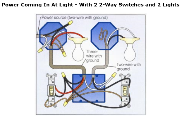 W L on Wiring 3 Way Switch With Multiple Lights