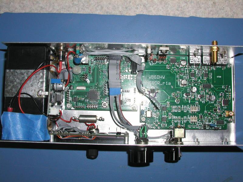 SDR2Go avec UHFSDR