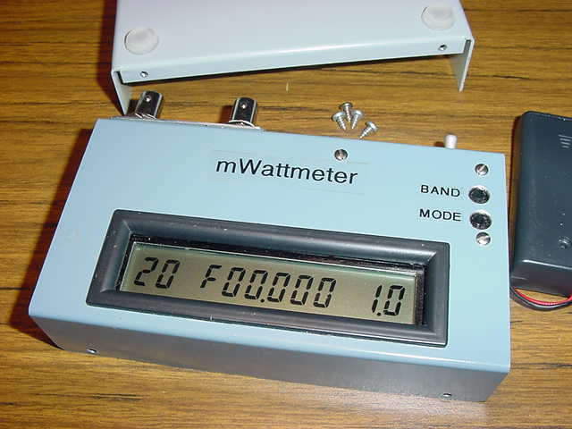 The Digital QRP mWattmeter Kit #9