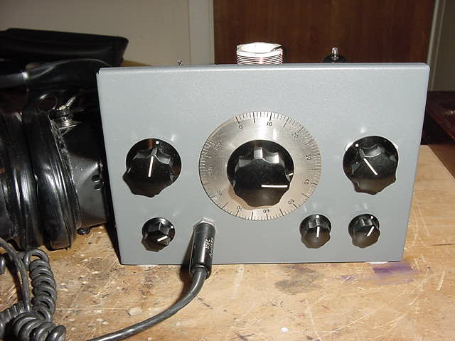 2-Tube Home Brew Receiver 1950s