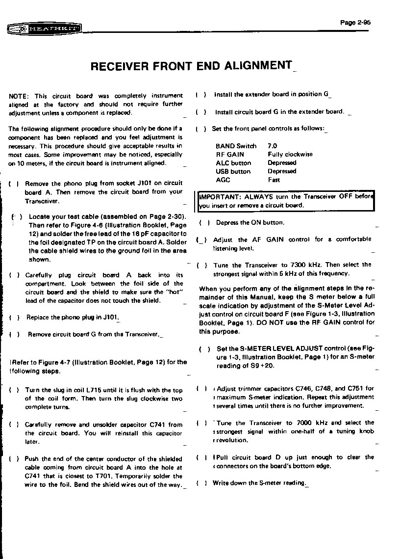Heathkit Sb 104 Hw Sb104a Web Site Instrument Cluster Circuit Board Is Bad 1000 Bucks Page 4 104a