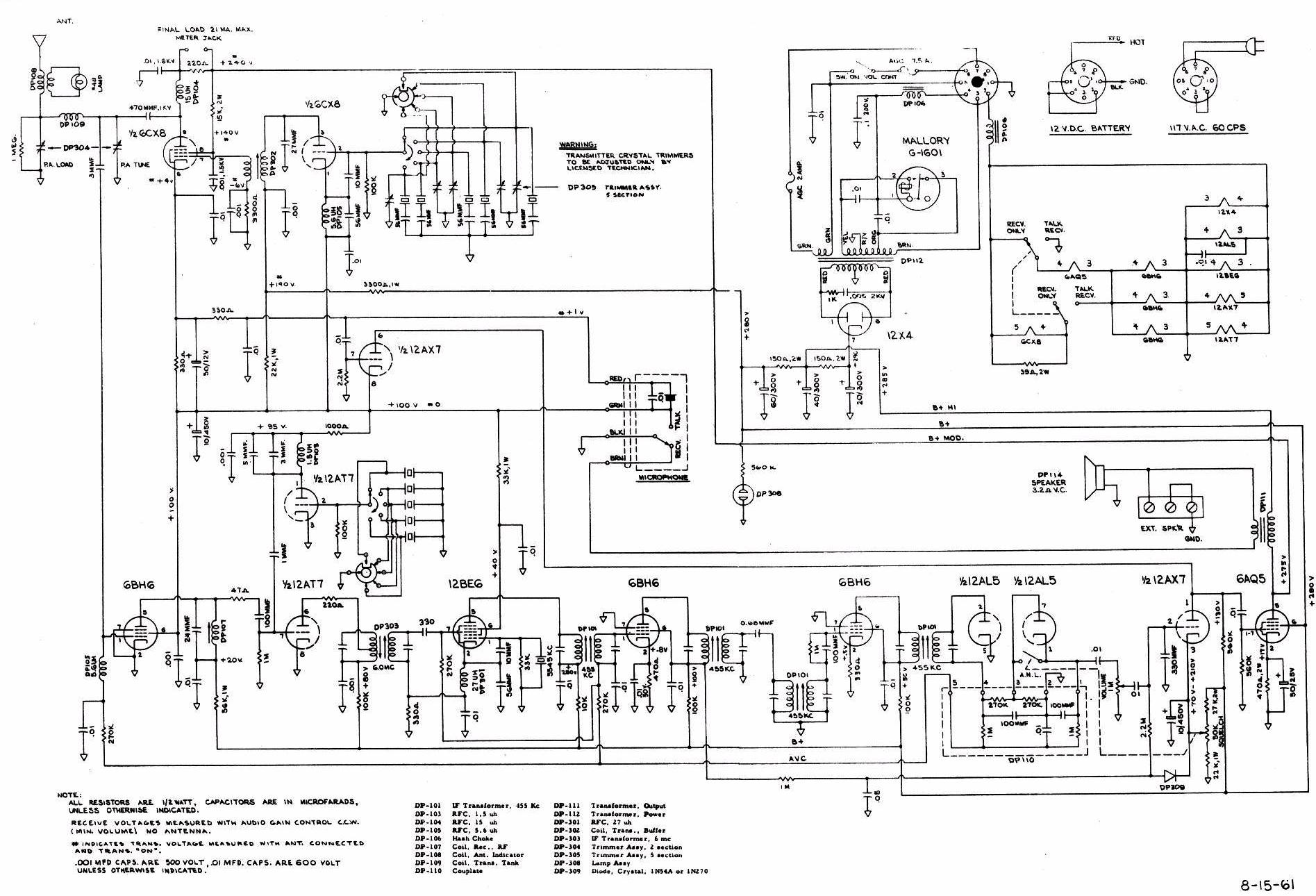 Schematic Drawing The wiring diagram – Draw Wiring Diagram