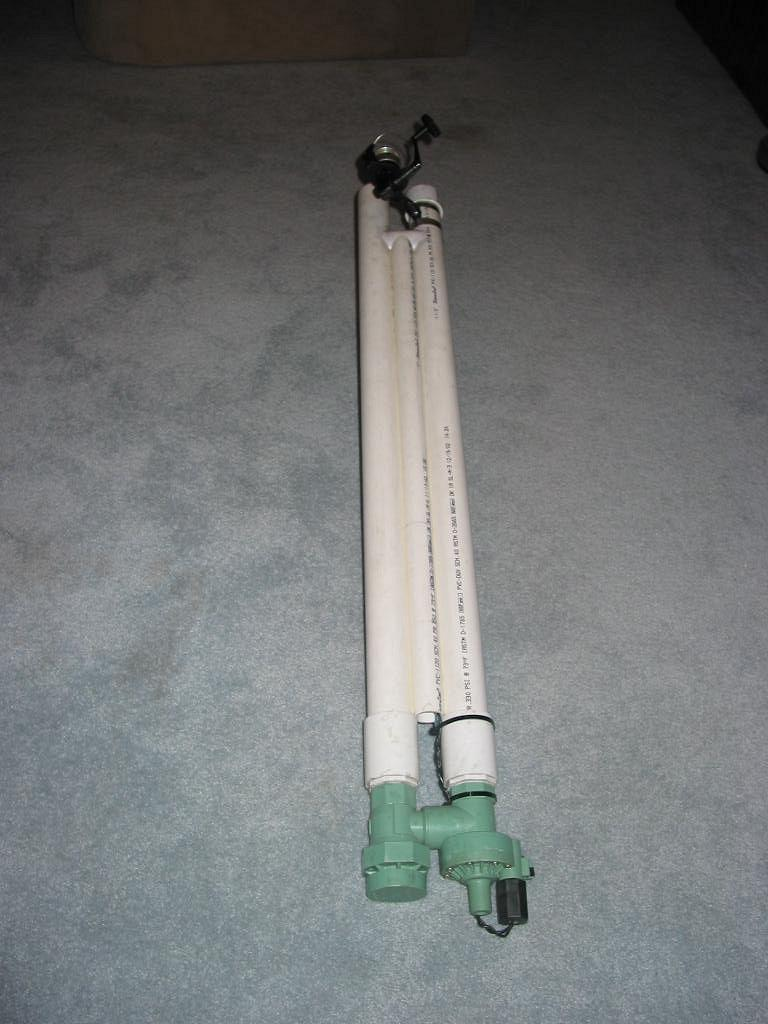 Compressed Air Antenna Launcher