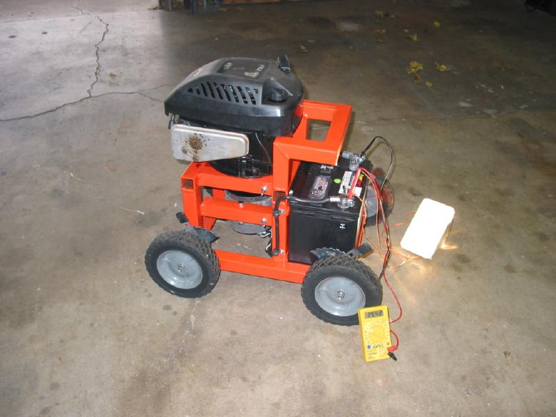 Run Electric Mower From Car Battery