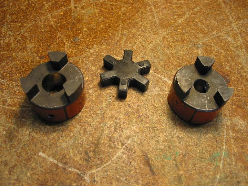 Small belt drive motor