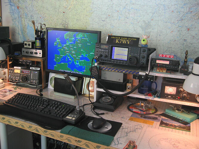 Amateur Radio Station Wb4omm: Amateur Radio Station K7WV