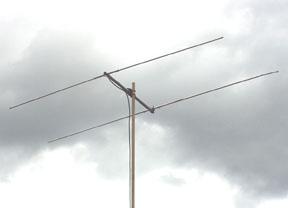6 meter 2 element yagi