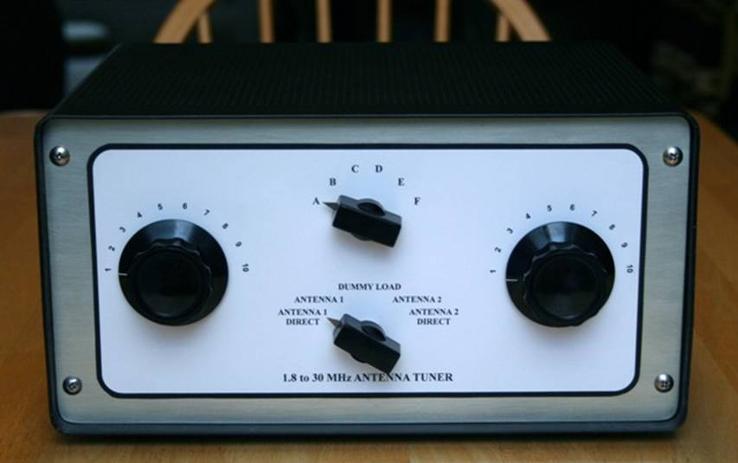 Homebrew Antenna Tuner – Billy Knight