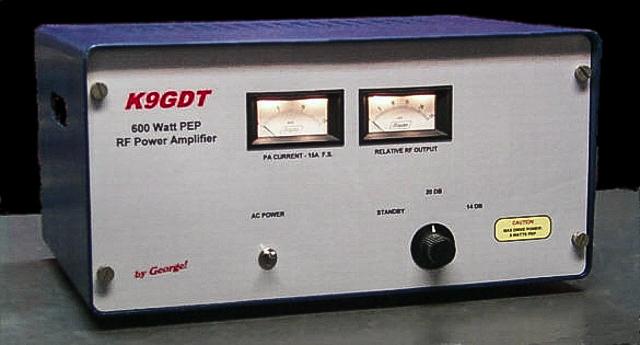 K9GDT 600 Watt HF Amplifier