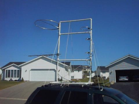 During A Contest, I Will Be Adding An FT 847 To The Mix, Along With  Addtional Smaller Radios For Additional Bands. I Have A Unique Roof Rack Mounted  Antenna ...