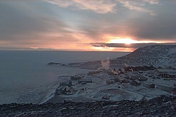 Sunset Over McMurdo from Ob Hill