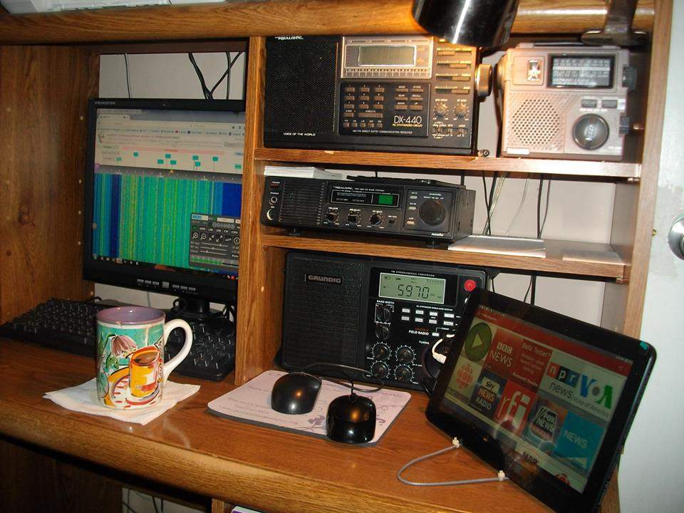 Short Wave Radio Voice of the World