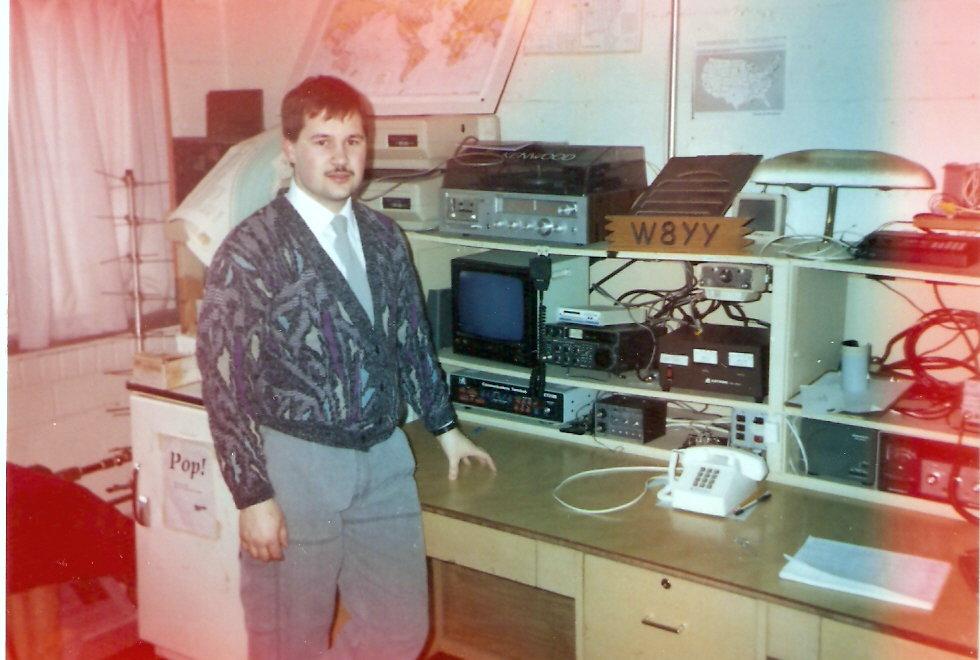 Kb0p S Amateur Radio Ham Shack