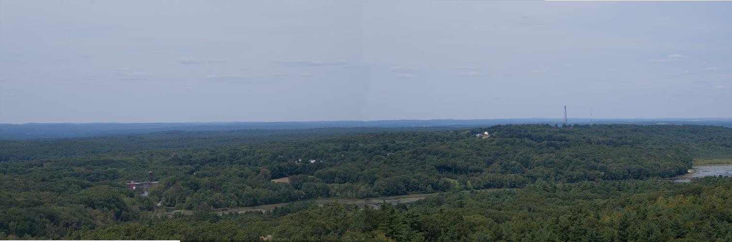 Panoramic View from 40m Tower AA1CE