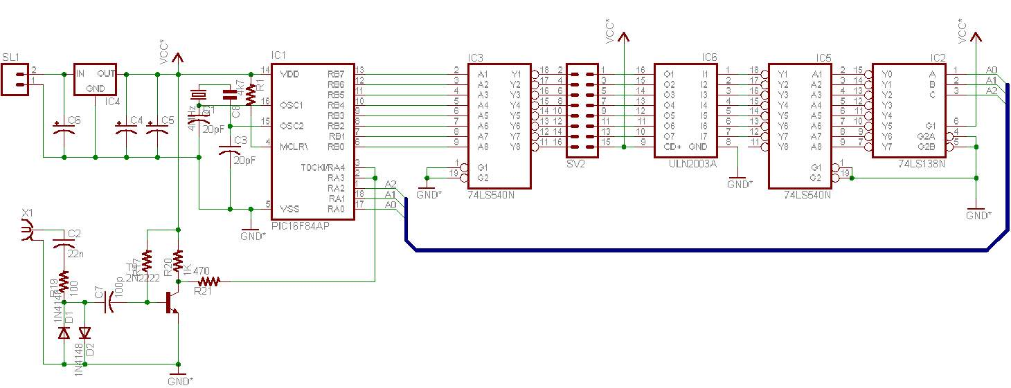 Frequancy Counter Frequency Schematic Board