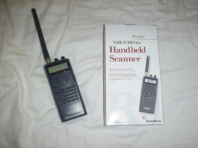 Pro 164 radio scanner radioshack on popscreen