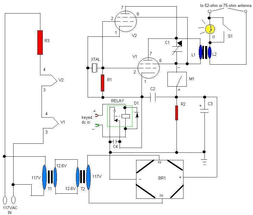 6 Watt 2 Tube Transmitter
