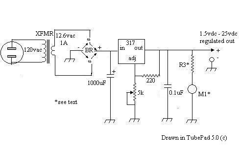 EASY VARIABLE VOLTAGE POWER SUPPLY