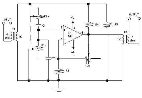 easy qmultiplier, schematic
