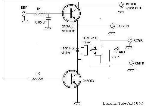 no nc relay diagram