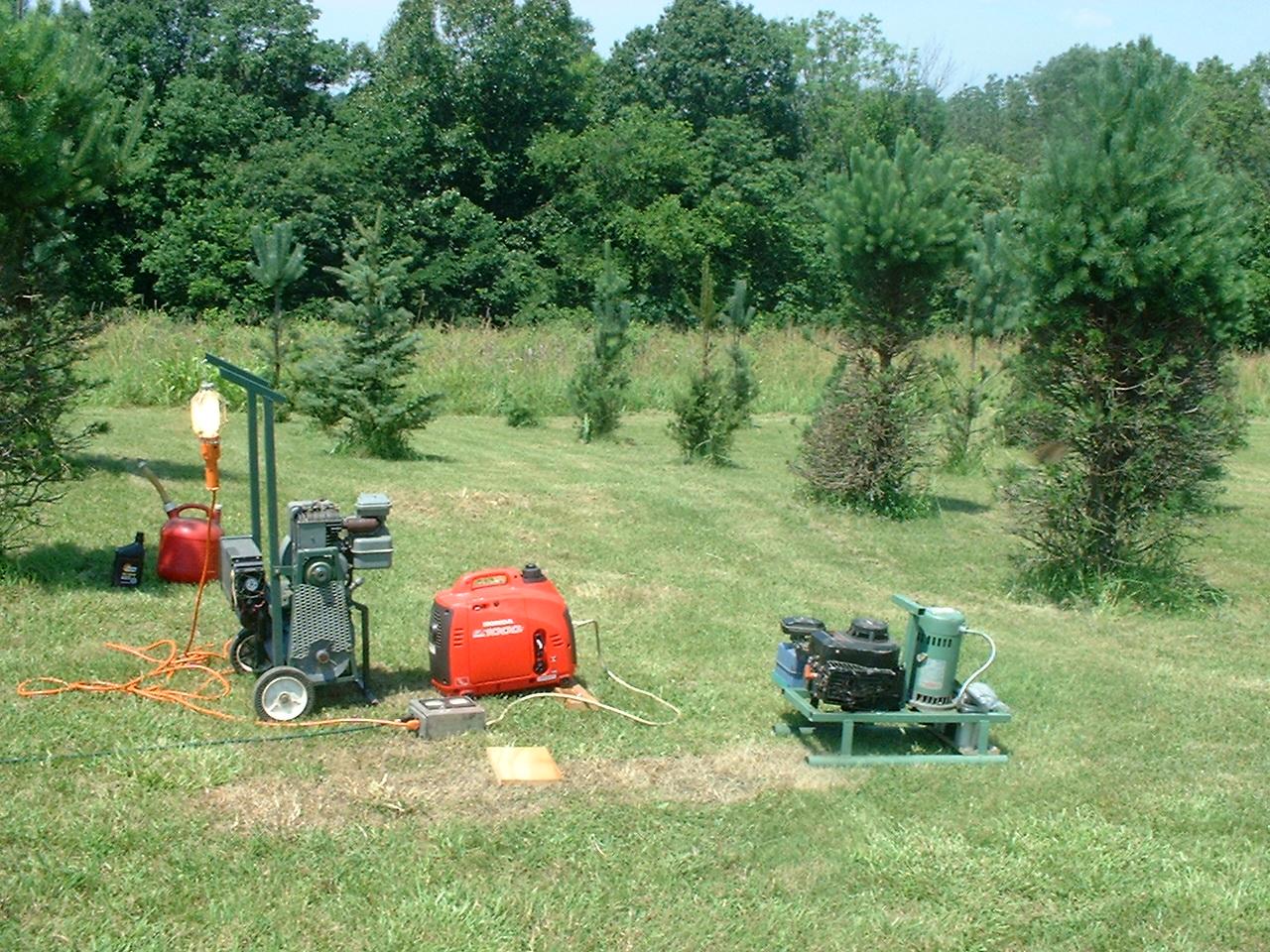 ns8o s homebrew generators and n8xwo s honda