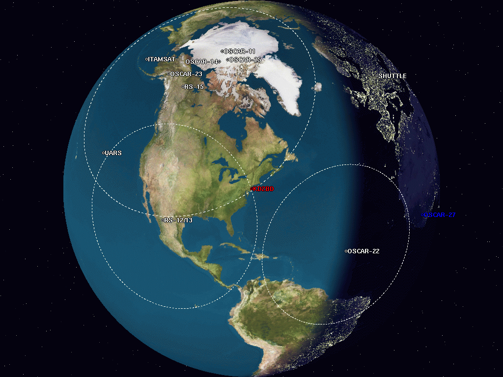 PREDICT - A Satellite Tracking/Orbital Prediction Program