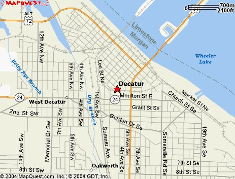 Decatur Alabama Map Related Keywords Amp Suggestions