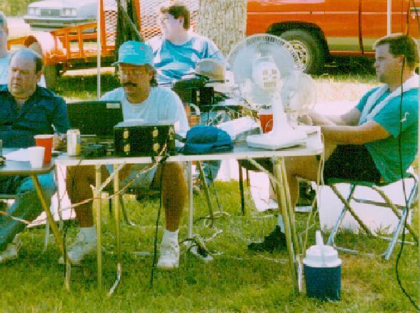 Field Day'96, I'm the one with the hat and a few of my friends!