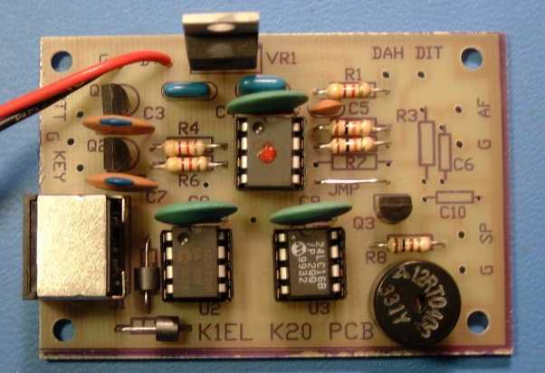 K1EL Keyboard Keyer