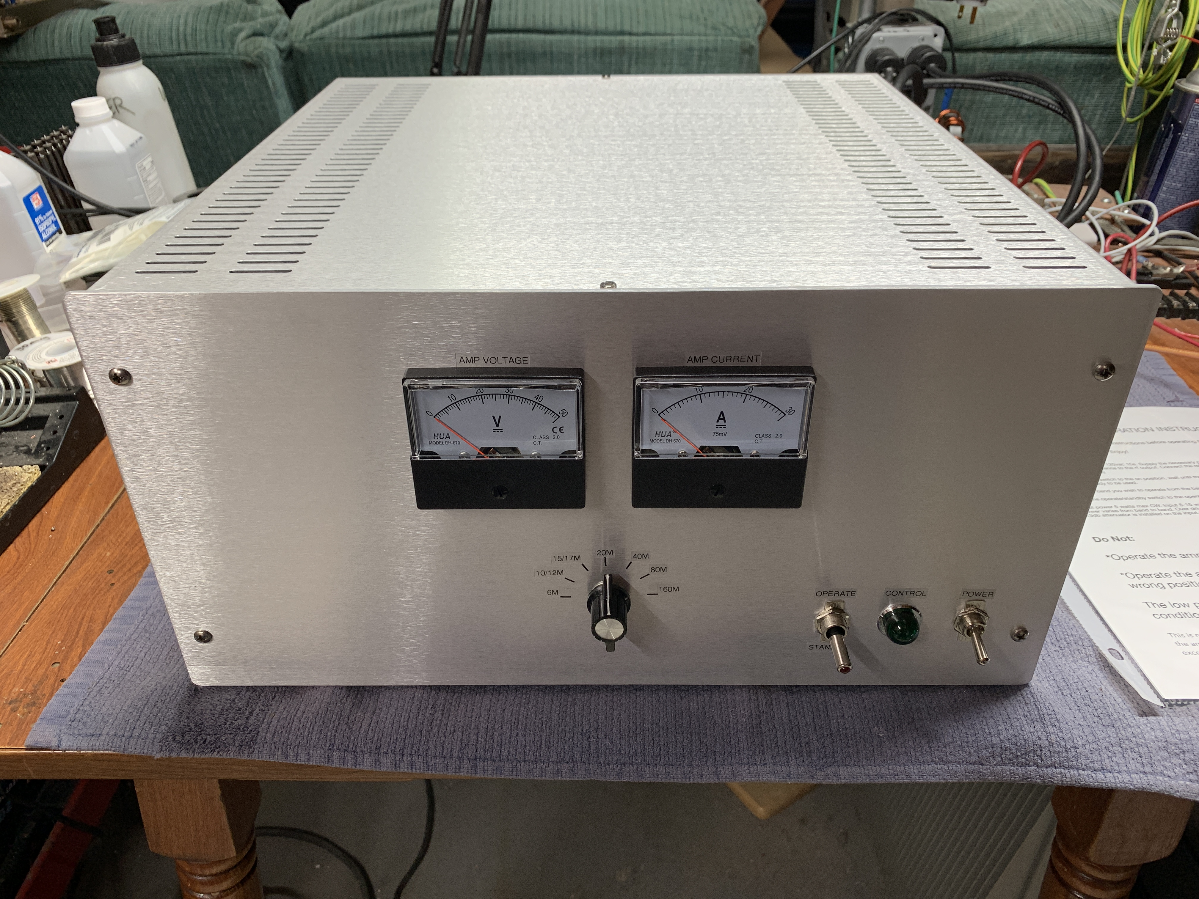 FOR SALE: SOLID STATE AMPLIFIERS