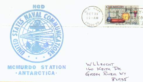 Scan of cover with green NGD cachet.
