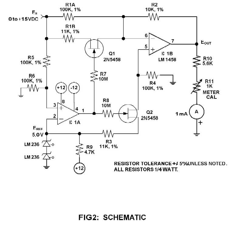 khgrt expanded scale dc voltmeter, wiring diagram